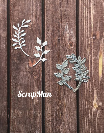 "Set of Dies ""Set Sprigs-1"", Scrapman"