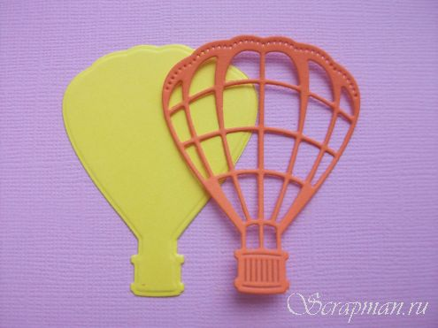 "Die ""Set Air Ballon""   ScrapMan"