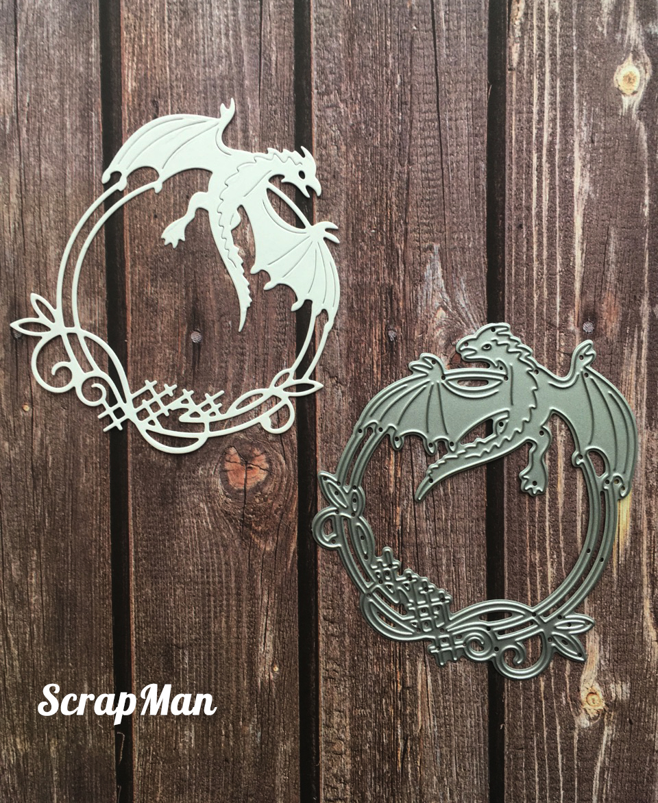 "Die ""Frame with dragon"", Scrapman"
