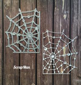 "Die ""Web with Drops"", Scrapman"
