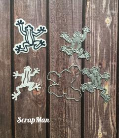 "Set of dies ""Frogs"", Scrapman"