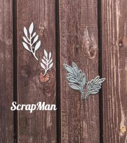 "Set of Dies ""Set Sprigs-2"", Scrapman"