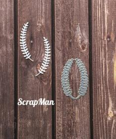 "Set of Dies ""Set Fern-1"", Scrapman"