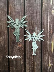 "Die ""Girl with wings"" ScrapMan"