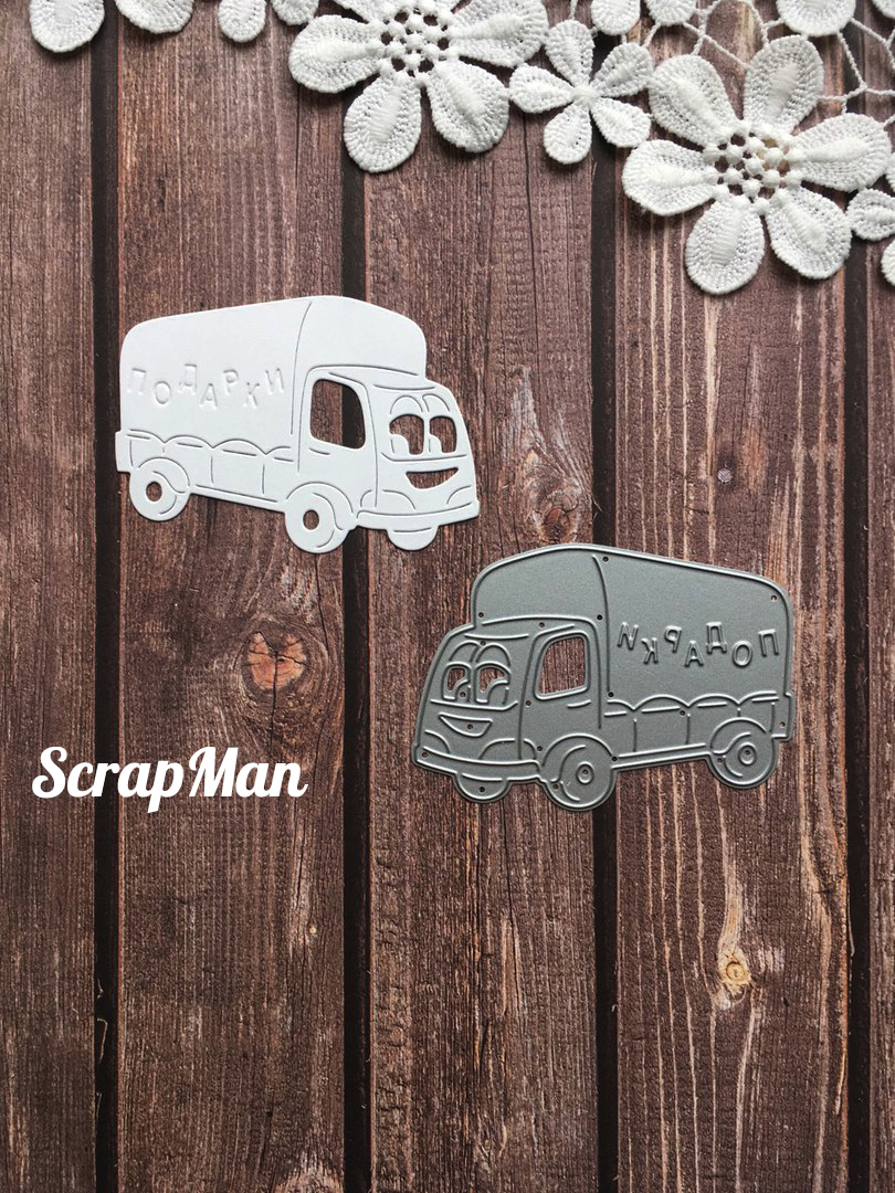"Die ""Cartoon Truck"" ScrapMan"