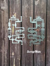 "Die ""Time Machine - 6"" ScrapMan"