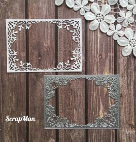"Die  ""Photo Frame"" ScrapMan"