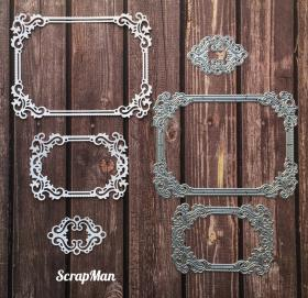 "Set of Dies ""Set Frames 3 in 1"", Scrapman"